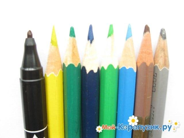 Поэтапное рисование природы цветными карандашами - фото 1