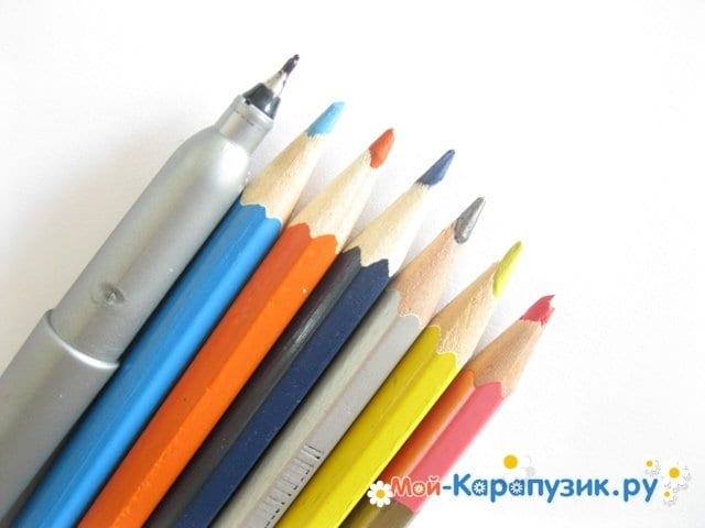 Рисование цветными карандашами для начинающих