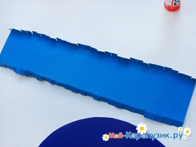 Изготовление бумажной шляпы - фото 11