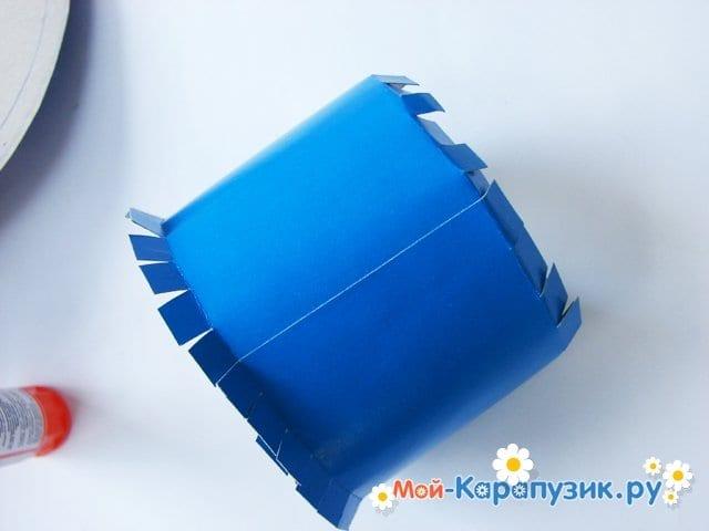 Изготовление бумажной шляпы - фото 12