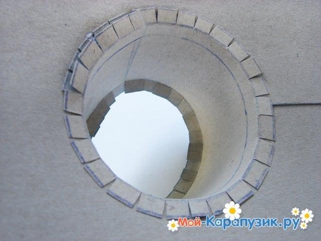 Изготовление бумажной шляпы - фото 15