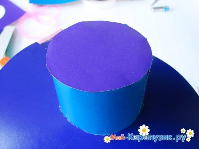 Изготовление бумажной шляпы - фото 18