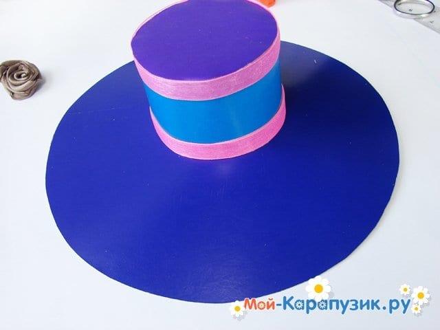 Изготовление бумажной шляпы - фото 22