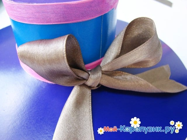 Изготовление бумажной шляпы - фото 25