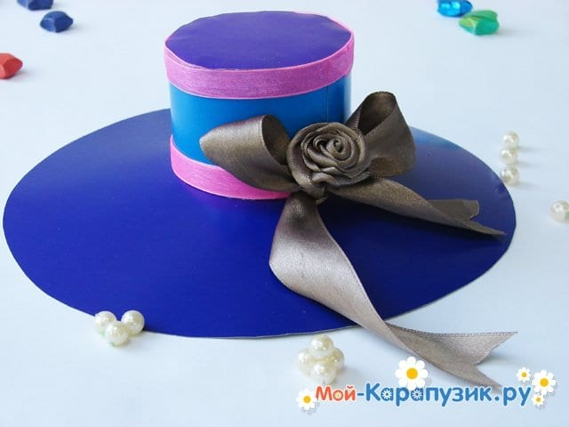 Изготовление бумажной шляпы - фото 29