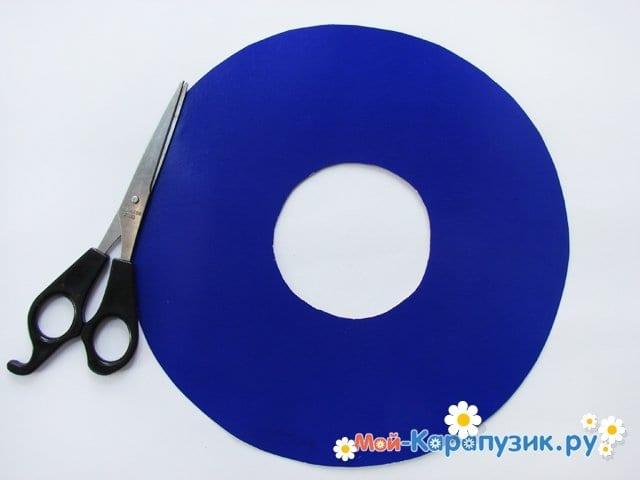 Изготовление бумажной шляпы - фото 3
