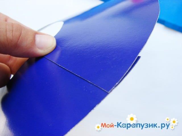 Изготовление бумажной шляпы - фото 7