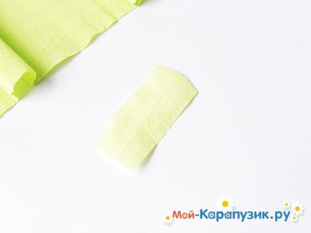 Изготовление одуванчика из бумаги - фото 14