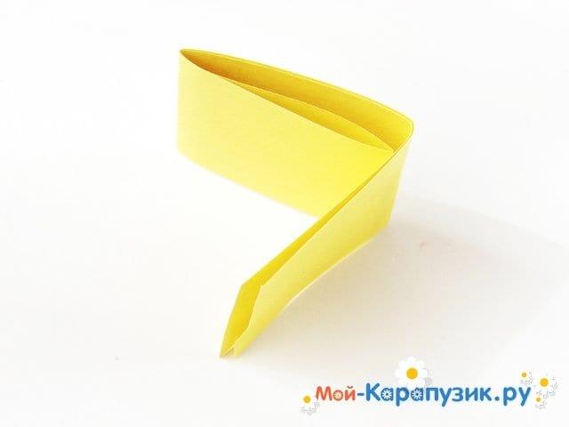 Изготовление одуванчика из бумаги - фото 3