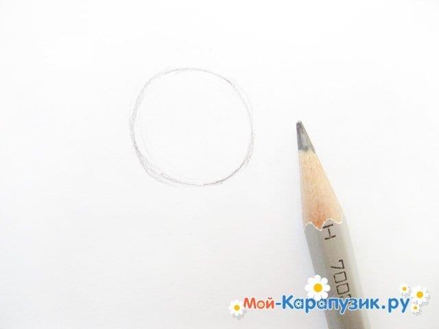Поэтапное рисование ангела цветными карандашами - фото 2