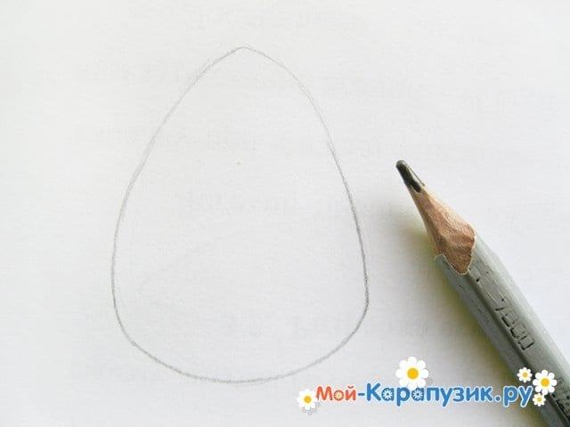 Поэтапное рисование совы карандашом - фото 2
