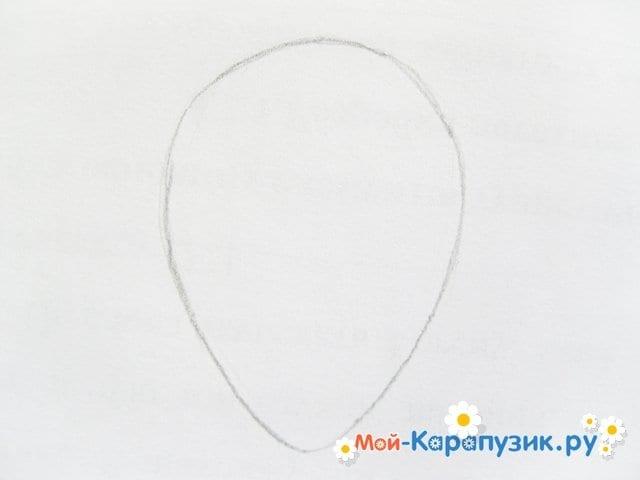 Поэтапное рисование совы карандашом - фото 7