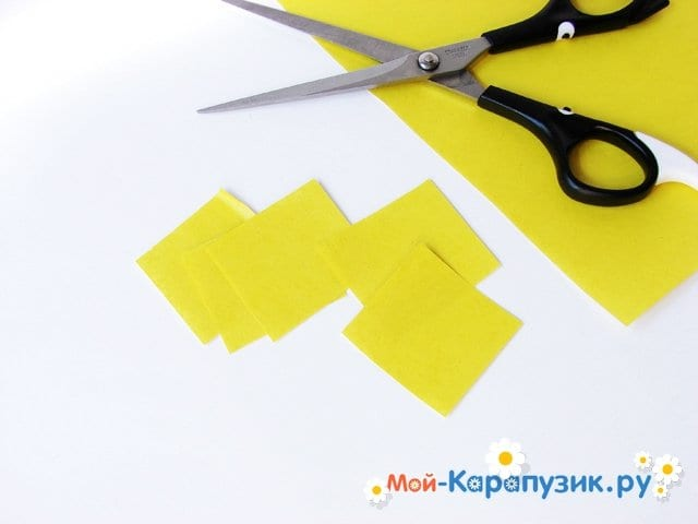 Изготовление георгин из бумаги - фото 3