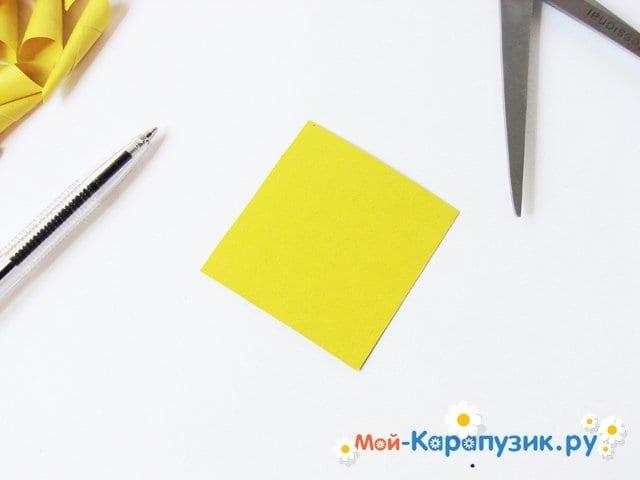 Изготовление георгин из бумаги - фото 7