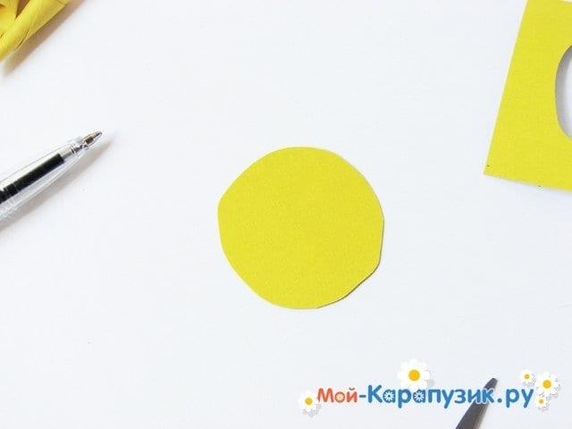 Изготовление георгин из бумаги - фото 8