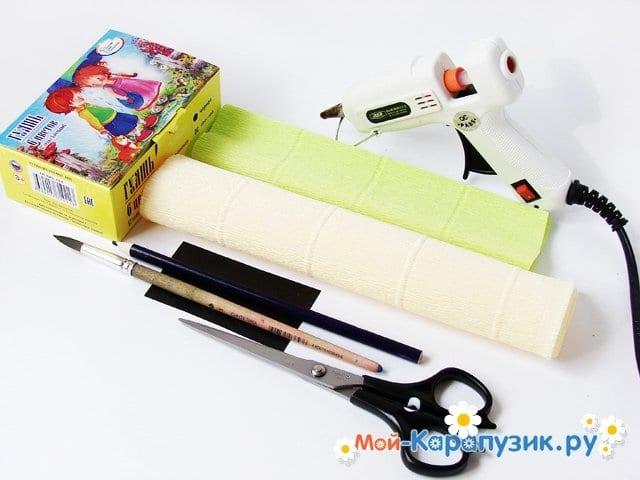 Изготовление лилии из бумаги своими руками - фото 1