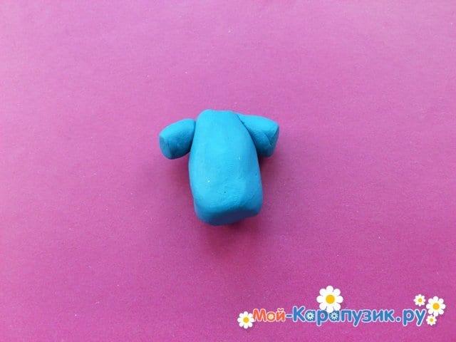 Лепка человека из пластилина - фото 5