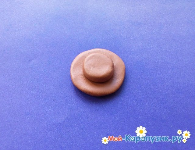 Лепка Копатыча из пластилина - фото 8