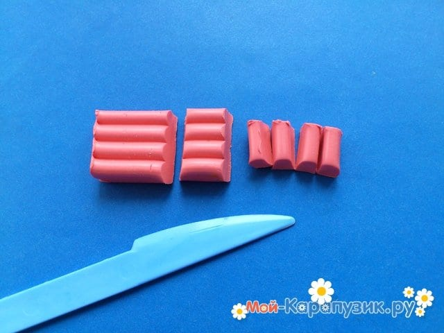 Лепка поросенка из пластилина - фото 2