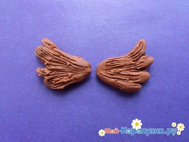 Лепка совы из пластилина - фото 9