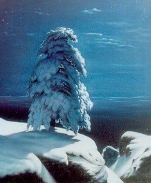 На севере диком стоит одиноко…