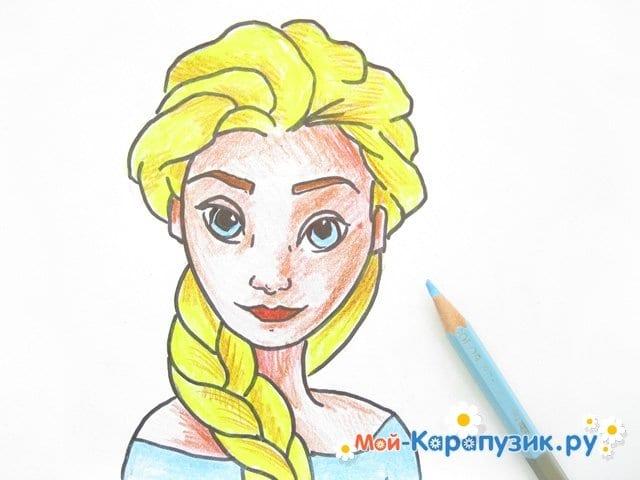 Рисование волос поэтапно карандашом
