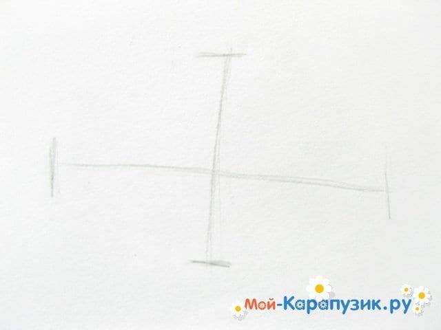 Поэтапное рисование глаза цветными карандашами - фото 2