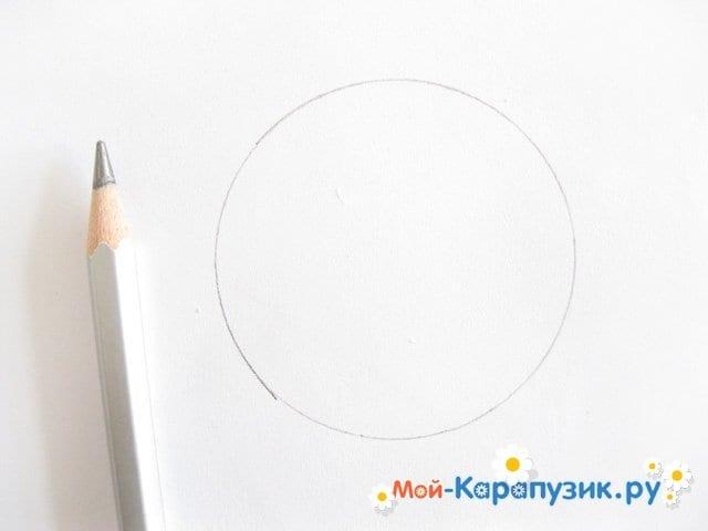 Поэтапное рисование листьев цветными карандашами - фото 2