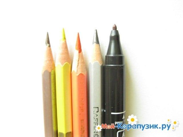 Поэтапное <strong>карандашом</strong> рисование оленя цветными карандашами - фото 1