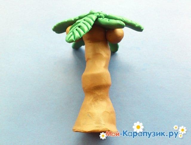Лепка пальмы из пластилина - фото 10