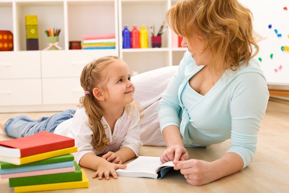 Ребенок учится читать по слогам