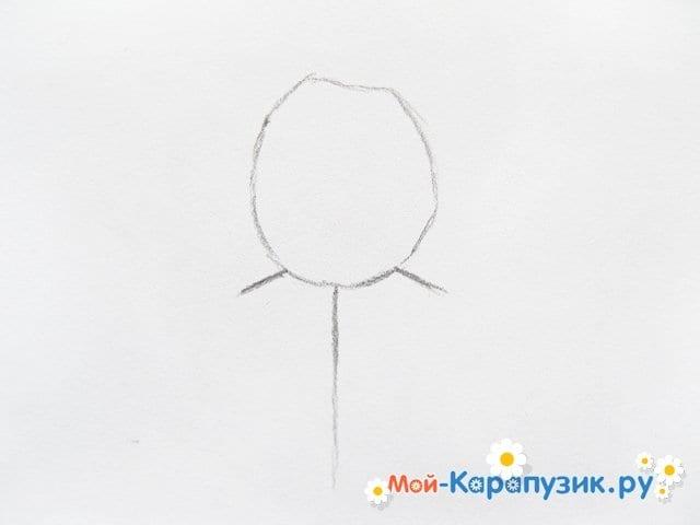 Поэтапное рисование мишки Фредди - фото 2