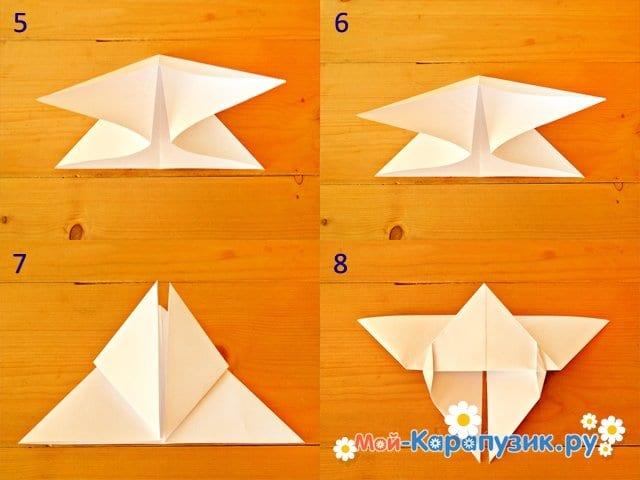 Изготовление бабочки из бумаги - фото 2