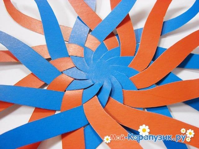 Изготовление воздушного шара из бумаги - фото 10