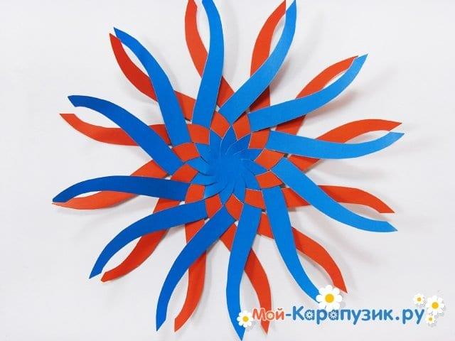 Изготовление воздушного шара из бумаги - фото 11