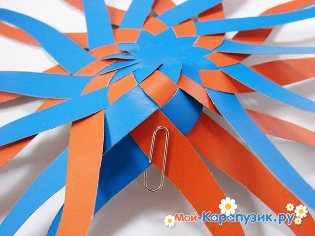 Изготовление воздушного шара из бумаги - фото 12
