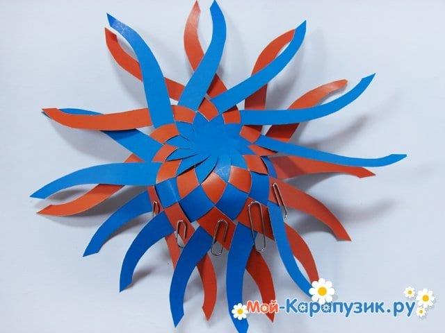 Изготовление воздушного шара из бумаги - фото 13
