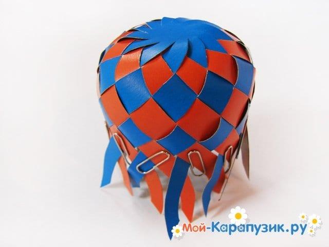 Изготовление воздушного шара из бумаги - фото 15