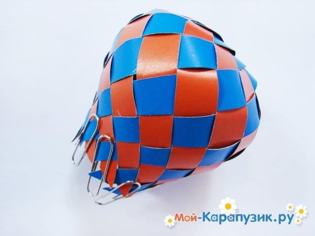 Изготовление воздушного шара из бумаги - фото 17