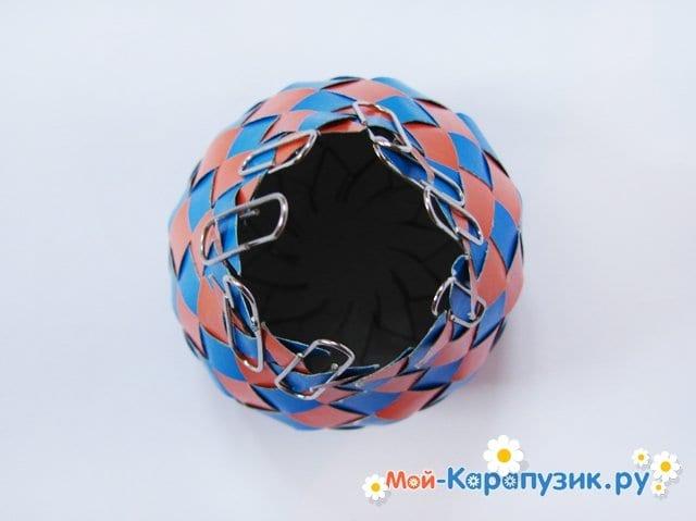 Изготовление воздушного шара из бумаги - фото 18