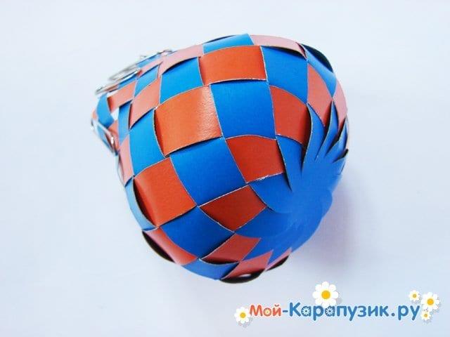 Изготовление воздушного шара из бумаги - фото 19