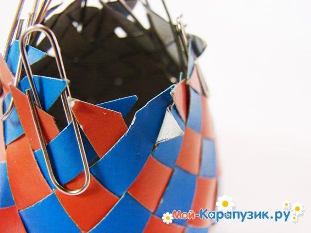 Изготовление воздушного шара из бумаги - фото 20