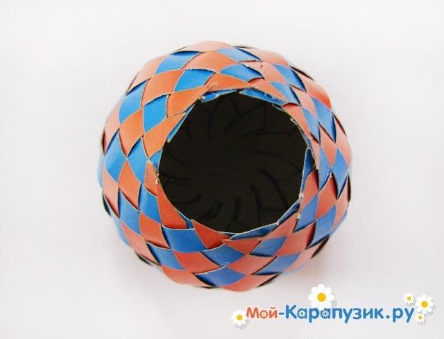 Изготовление воздушного шара из бумаги - фото 22