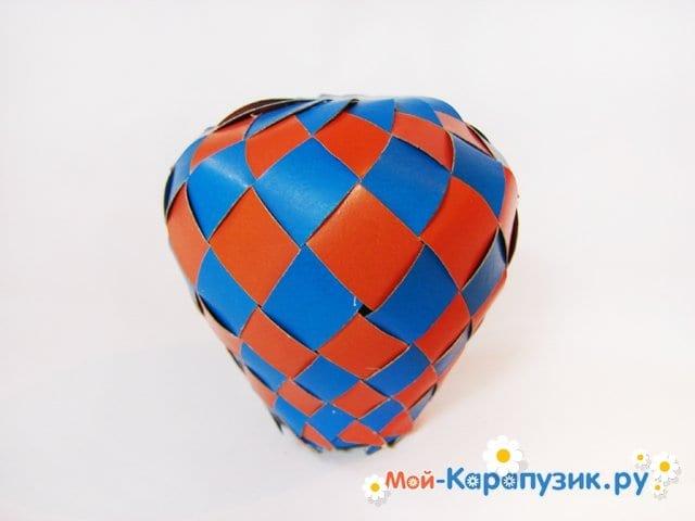 Изготовление воздушного шара из бумаги - фото 23