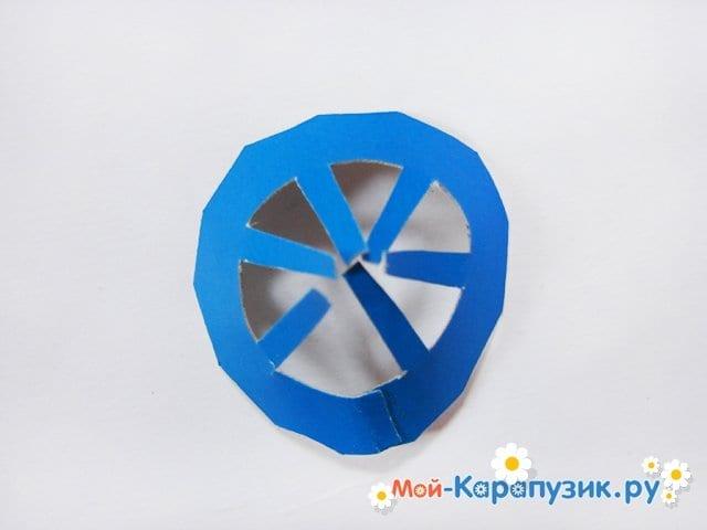 Изготовление воздушного шара из бумаги - фото 24