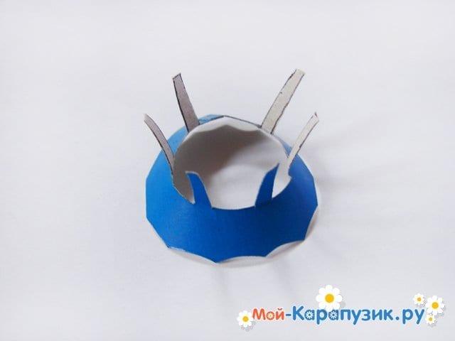 Изготовление воздушного шара из бумаги - фото 25