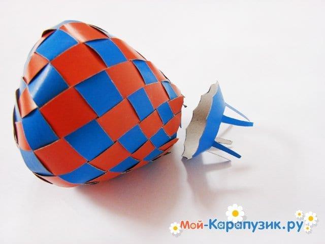 Изготовление воздушного шара из бумаги - фото 26