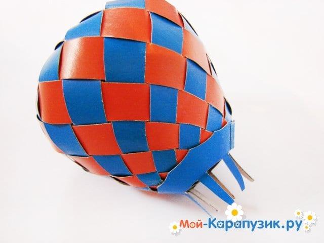 Изготовление воздушного шара из бумаги - фото 27