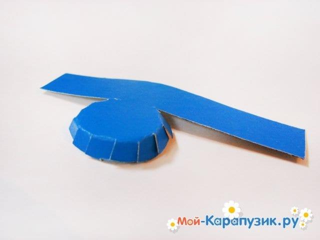 Изготовление воздушного шара из бумаги - фото 28