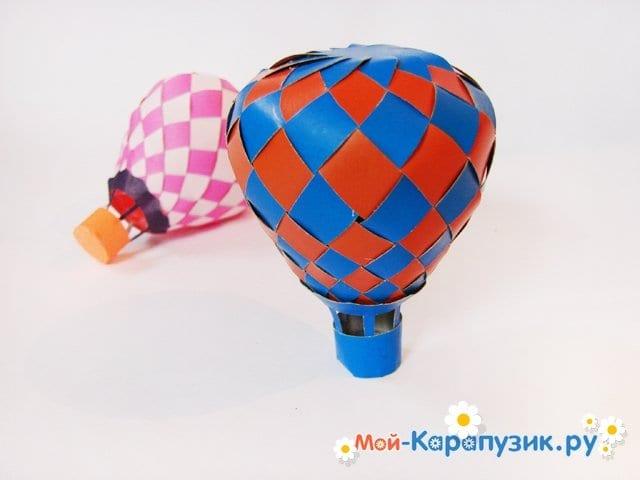 Изготовление воздушного шара из бумаги - фото 32